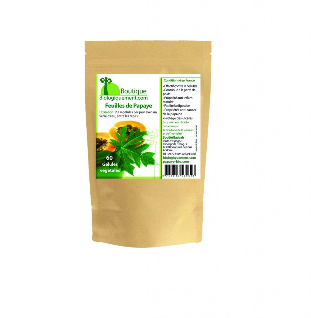 Achetez de la feuille du papayer est riche en papaïne un anticancer naturel puissant, qui permet aussi de réduire la graisse corporelle durablement.