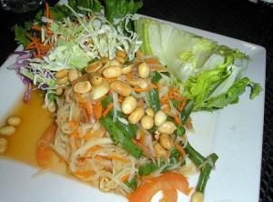 Salade de papaye verte bio - Som Tam
